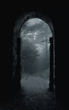 I am fond of doorways, portals, gates and other Inbetween Places.