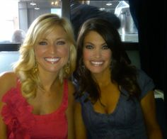 The Fox Foxes: The sexy and talented cable news personalities Ainsley Earhardt and Kimberly Guilfoyle get plenty of men watching the Fox News Channel everyday.