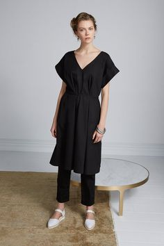 Two Of A Kind Dress by Kowtow. Ethical organic cotton.