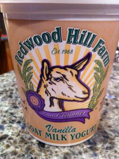 Vanilla Goat Milk Yogurt <3