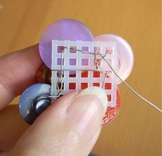 make button pin without gluing and ruing the buttons