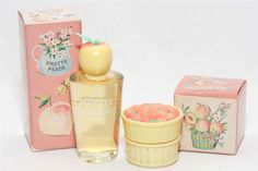Pretty Peach Avon perfume - a fragrance for women 1964 Vintage Avon, Vintage Perfume, Vintage Beauty, Vintage Vanity, Vintage Items, My Childhood Memories, Sweet Memories, Childhood Toys, Avon Perfume