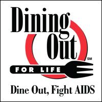 Support a great cause!  Dine Out, Fight AIDS! Dining Out for Life is held at many St. Louis area restaurants each year on the last Thursday in April...