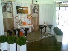 Lounge que nosso escritório montou para a loja Requinte em evento para mais de 2.000 pessoas em Jaraguá do Sul - SC.