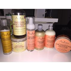 Products used on my natural 4b hair