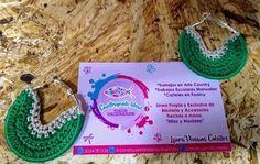 Accesorios hechos 100% a mano tejidos en crochet, talento colombiano, contáctanos 3054787236 Crochet Earrings, Jewelry, Handmade Envelopes, Tejidos, Accessories, Jewlery, Bijoux, Jewerly, Jewelery