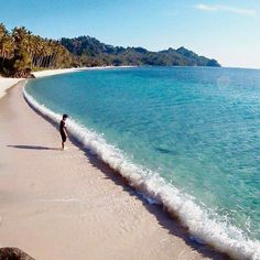 """""""Crystal clear water at Banggai Laut Central Sulawesi ..."""
