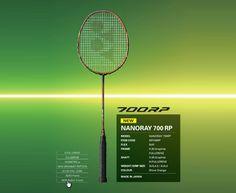 YONEX NANORAY 700 RP (NR700RP) Badminton Shop, Badminton Racket, Tennis Racket, Power Training, Japan News
