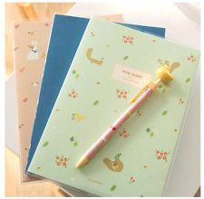 New PIYO Diary Journal Planner Organizers undated/ PVC Cover + 3 Stickers