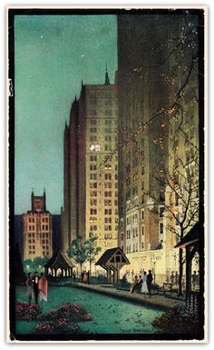 Cover of 1930 brochure, from Tudor City Confidential