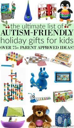 Autism-Friendly Holiday Gifts for Kids - 75+ Parent-Approved Gift Ideas! ad
