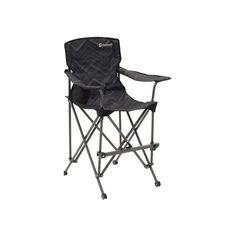 Pine Hills Junior is a brand new chair designed especially for younger campers and therefore includes features as an adjustable footrest and has a tilt prevention frame for safety. Outwell recommended age: 3-8 years old, maximum load is 50kg. Outdoor Chairs, Outdoor Furniture, Camping Chairs, Butterfly Chair, Camping Equipment, Folding Chair, Foot Rest, Chair Design, Pine