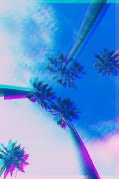 Glitch Palms by Scott Webb
