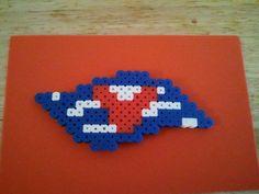 Disney Cruise Line Logo bead magnet