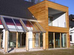 Mizarstvo Hrovat - Wooden facade - Lesena fasada Škofja Loka http://www.hrovat.net/izdelki/lesene-fasade/lesena-fasada-skofja-loka/