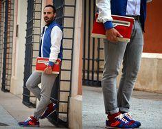 Street Style: calcetines Lemonade Attack rojos, en el blog de Boyurbandchic…