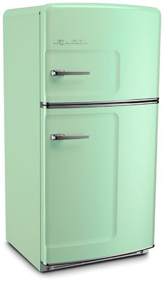 Jadite Green-- check out other option of fridges.  Good stove too.  Make sure size is large enough (after all, it is going to cost $3K!)  and make sure it has good consumer ratings!!