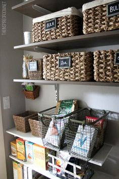 pantry decorating 634x951 18 DIY Kitchen Organizing And Storage Projects