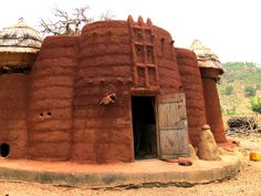 A Tamberma building in northern Togo.
