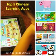 Top 5 Chinese Learning Apps for Kids via Miss Panda Chinese