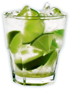 caipiroska: one of my go-to drinks at home. try it with some chili infused vodka. #cocktail #caipiroska #vodka #lime