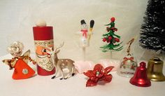 Vintage Christmas Items Christmas Craft Projects with a Vtg