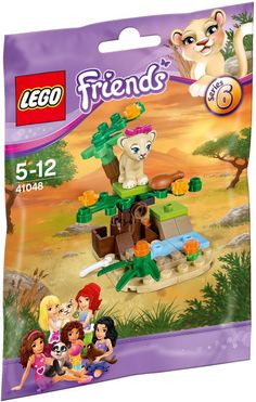 41048 LEGO Friends Animals - Series 6 Lion Cub's Savanna