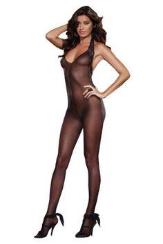Dreamgirl Bodystocking 0128 schwarz Dessous