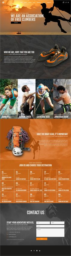Freestyle is a wonderful responsive #WordPress theme for #webdesign extreme sports #climbing website with 12+ unique homepage layouts download now➩ https://themeforest.net/item/freestyle-a-wordpress-theme-for-extreme-sports/18929210?ref=Datasata