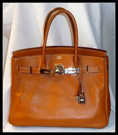 Very soft leather 30cm in gold swift #hermes