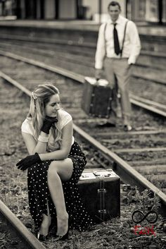 Vintage Railway themed shoot