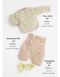 Model trousers CB16-33 - Free knitting pattern