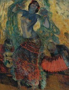 Aroldo Bonzagni - Moti del Ventre, 1912
