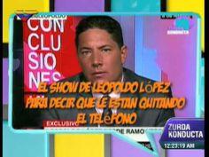 """El Show de """"Leopez"""" (Leopoldo López) miente en entrevista realizada por CNN: ¡Me quieren quita..."""