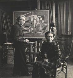 Arpad Szenes e Maria Helena Vieira da Silva, Paris, 1949 by Willy Maywald