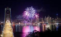 Do New Year's Eve in San Francisco right with these dance parties, dinners, live shows, & front row views of the midnight fireworks. Fort Mason, Dillon Francis, New Year's Eve Cocktails, Happy New Year 2016, Fireworks Show, South Lake Tahoe, Palace Hotel, George Washington Bridge, New Years Eve