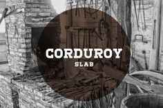 This is the FREE Corduroy Font by Ryan Welch which is a display font that is…