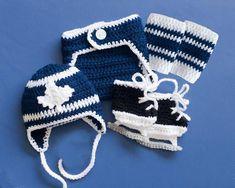 BABY HOCKEY Outfit Maple Leaf Hockey Crochet Hockey Baby