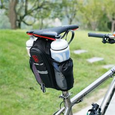 WHEEL UP Pocket Bike bicicle Seatpost Bag MTB Road bicycle Seat Rear Tail Pouch Bottle Bags New 900D waterproof bolsa bicicleta