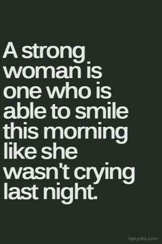 And You are the strongest my beautiful girl!! Xxxxxxx