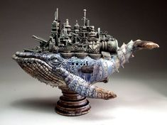 Whale Battleship - by Mitchell Grafton