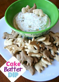 Cake Batter Dip - The dip you can't say no to | FamilyFreshMeals.com