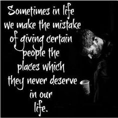 Yup especially two-faced so called friends & liars...good riddance