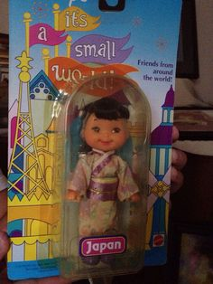 Disney's It's a Small World Doll Japan Authentic  Cherry Merry Muffin Vintage  on Etsy, $40.00