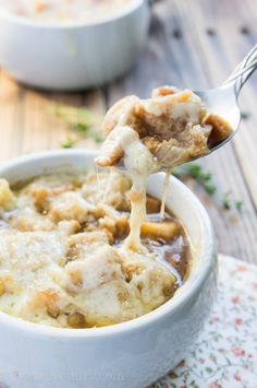 Easy French Onion Soup Recipe - I Wash... You Dry