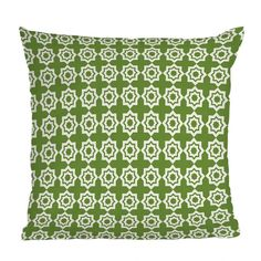 DENY Designs Khristian A Howell Green Moroccan Mirage Throw Pillow | Pure Home