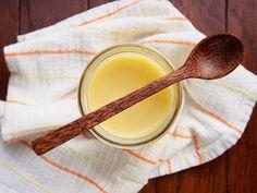 Homemade wood butter