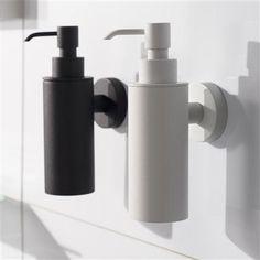 Haceka Kosmos Metal Soap Dispenser, Black