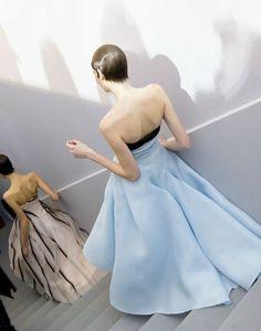 naimabarcelona:Dior backstage