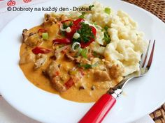 Stew, Risotto, Mashed Potatoes, Menu, Treats, Chicken, Cooking, Ethnic Recipes, Food